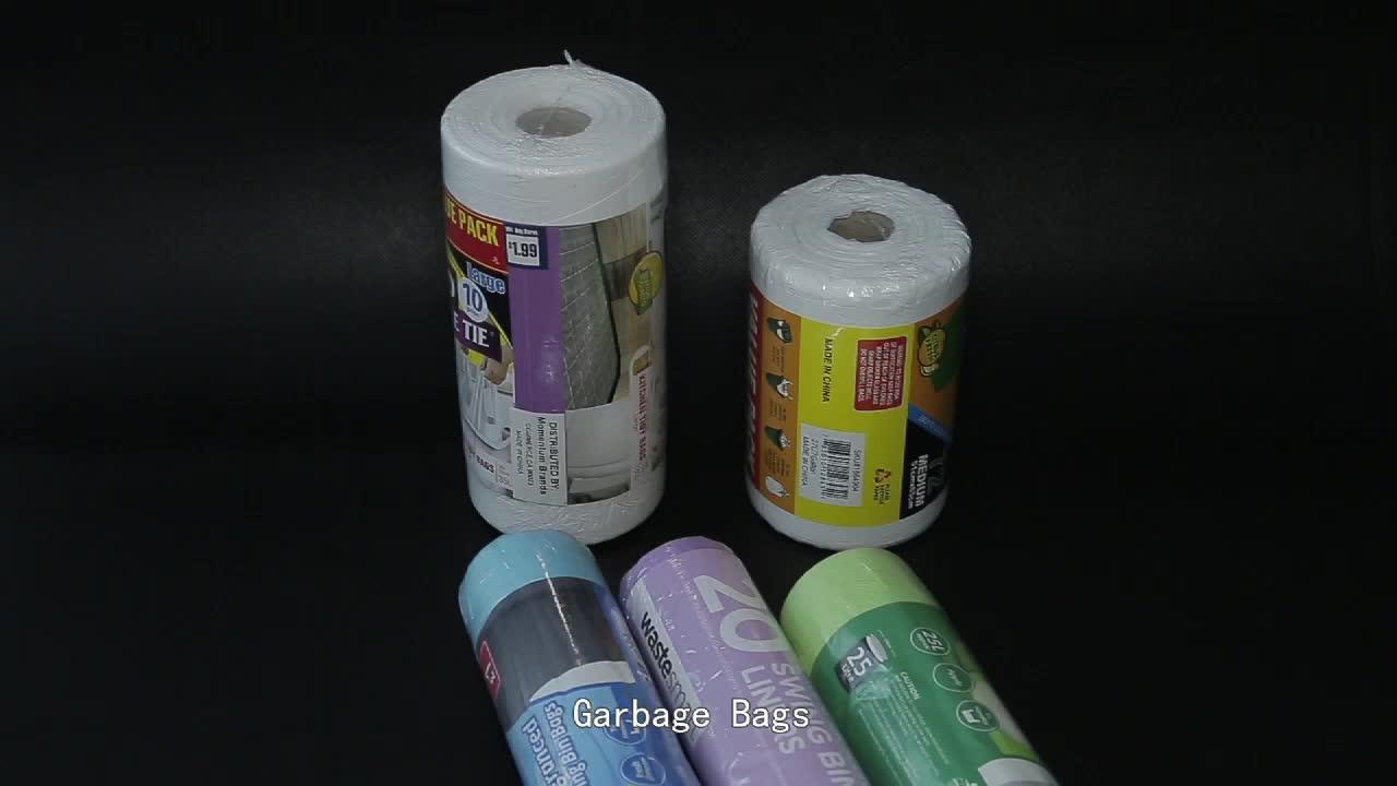 Wegwerp biologisch afbreekbaar prullenbak Liners poly plastic vuilniszakken