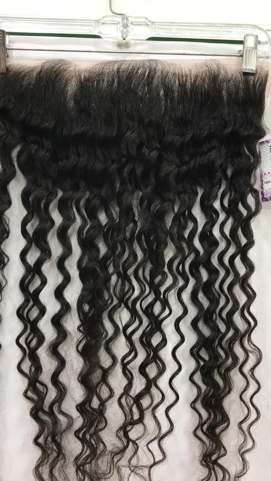 Indian Human Hair Raw Temple Virgin hair Supplier