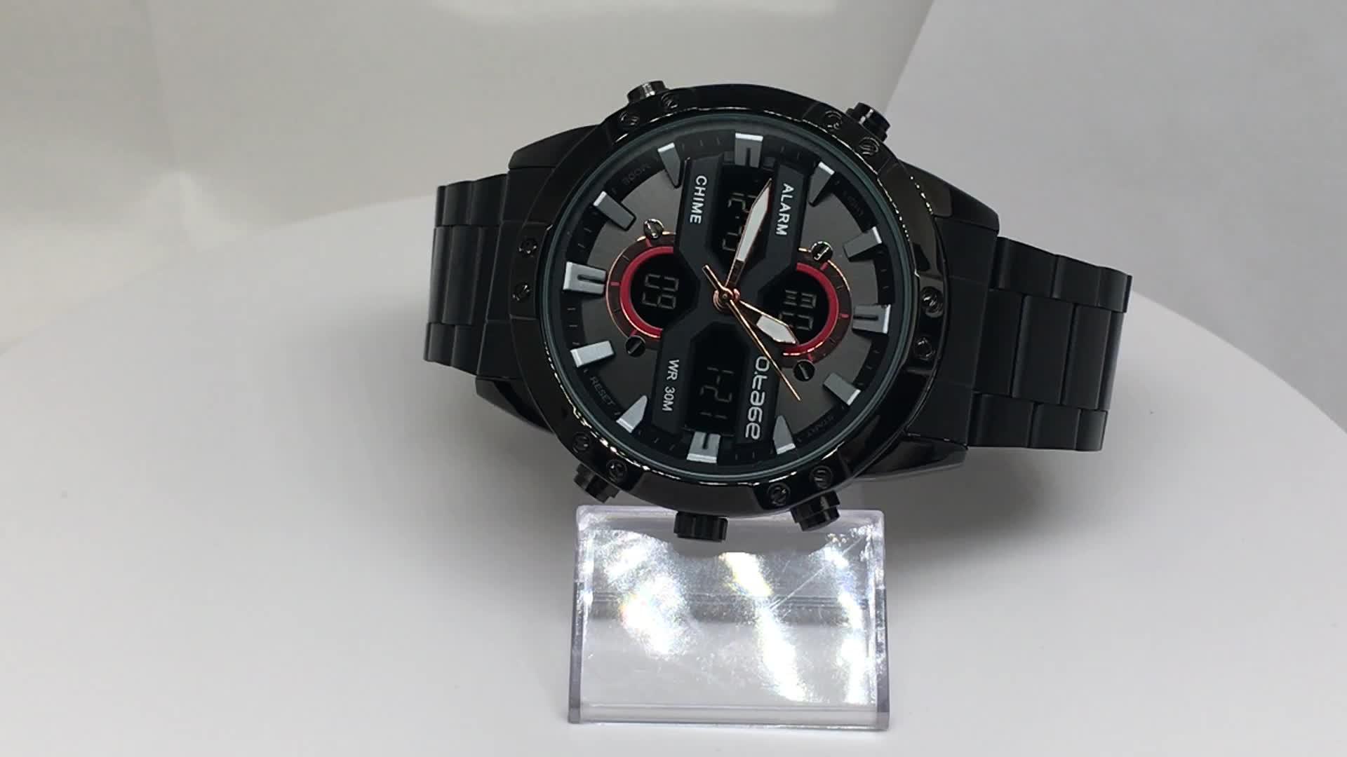 Relógios homens de pulso de quartzo relogio masculino relógio de pulso de moda minimalista de luxo banda de aço inoxidável atacado