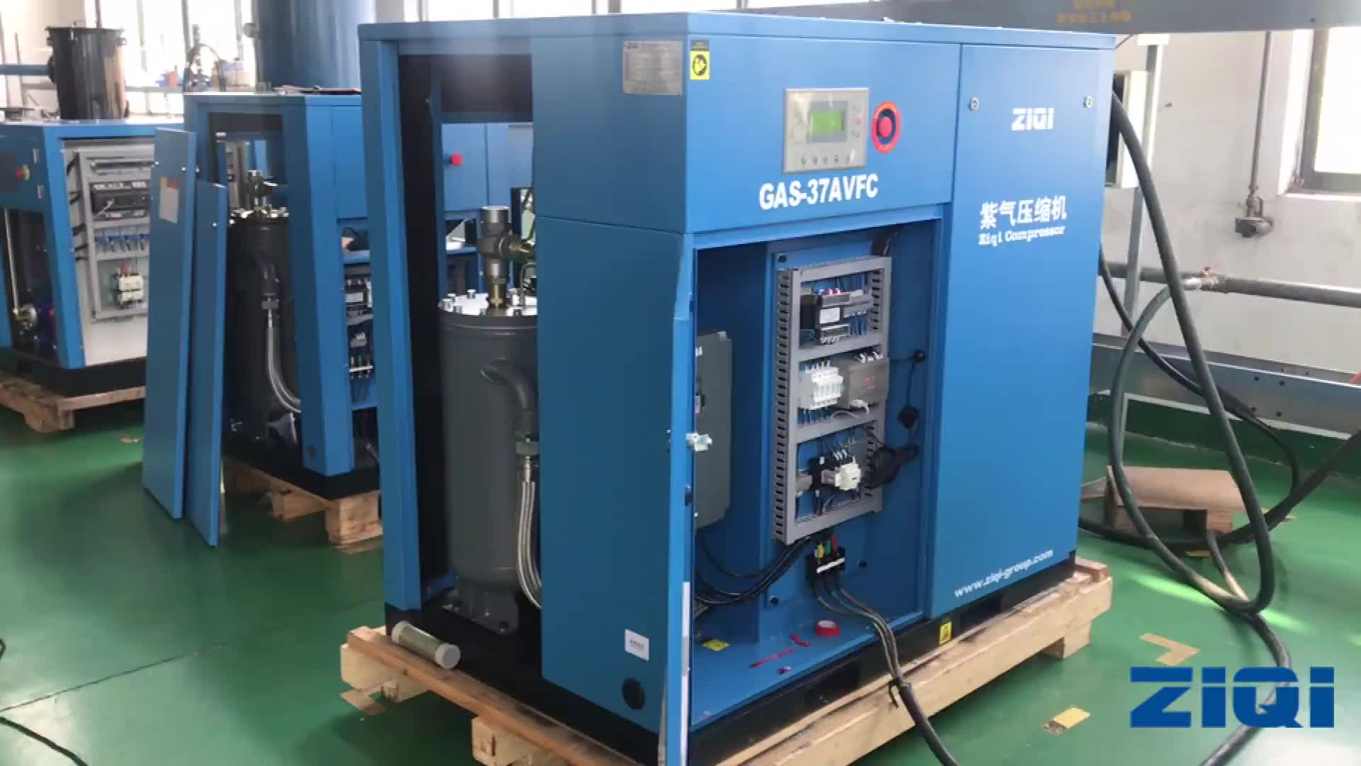 Good Selling Air-Cooling 37kw Direct Driven Screw Compressor Price