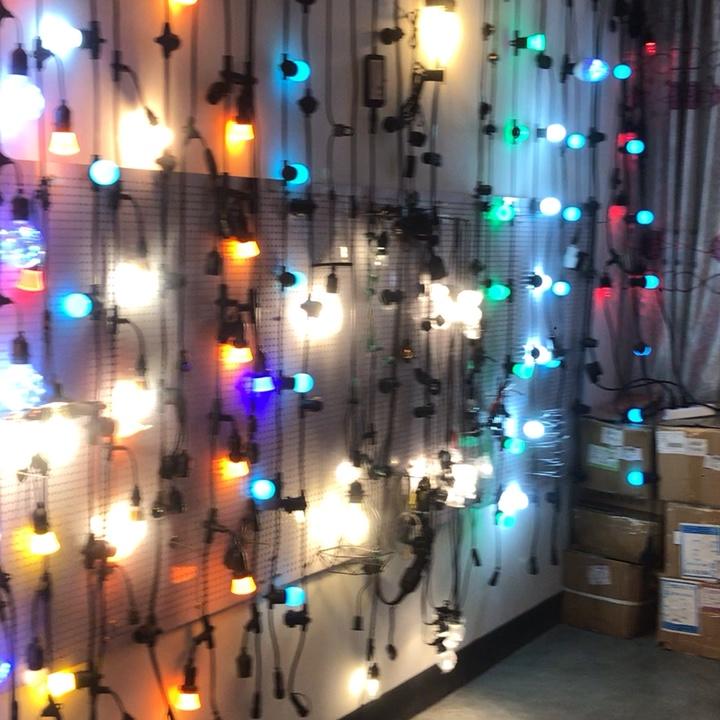 Benutzerdefinierte großhandel kommerziellen wasserdichte PVC gummi draht outdoor led solar string lichter für garten