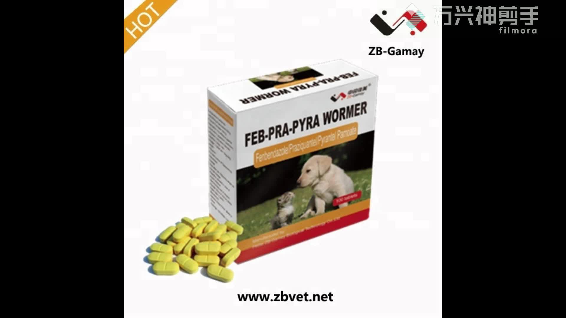Praziquantel Pyrantel Pamoate Fenbendazole cat Pesticides