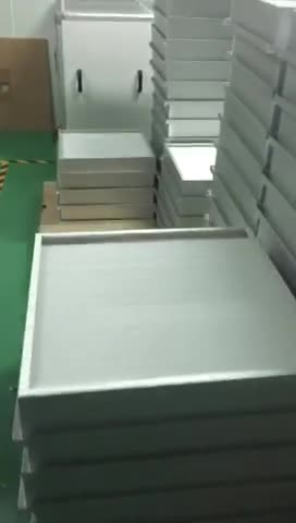 Aluminum frame High Efficiency without clapboard air Filter for clean room