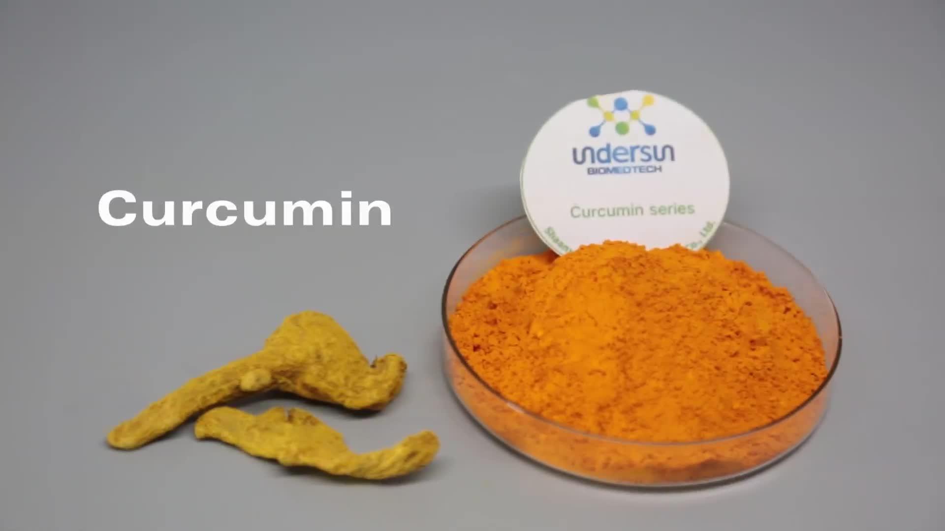 wholesale curcumin 95% water solubl turmer powder