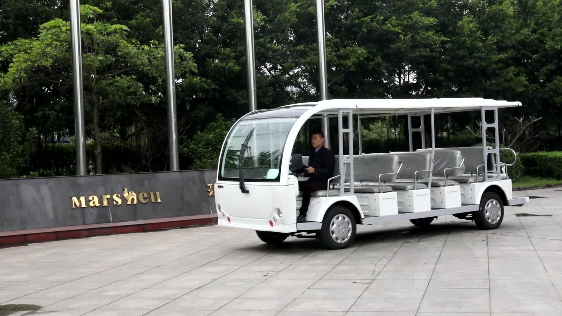 23 Sitzelektrischer offener Bus mit CER-Bescheinigung DN-23 (China)
