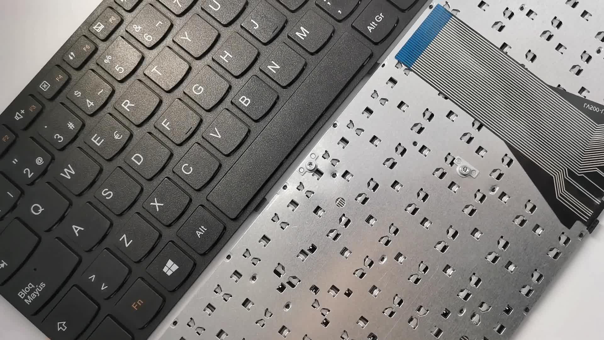 SP Spaans zwart frame laptop toetsenbord voor lenovo g50-30 g50-45 g50-70 g50-80 notebook toetsenbord