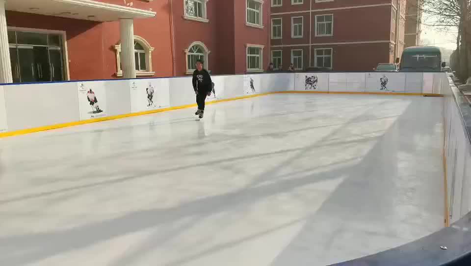 uhmwpe sheet hdpe sheet synthetic ice rink for curling stones