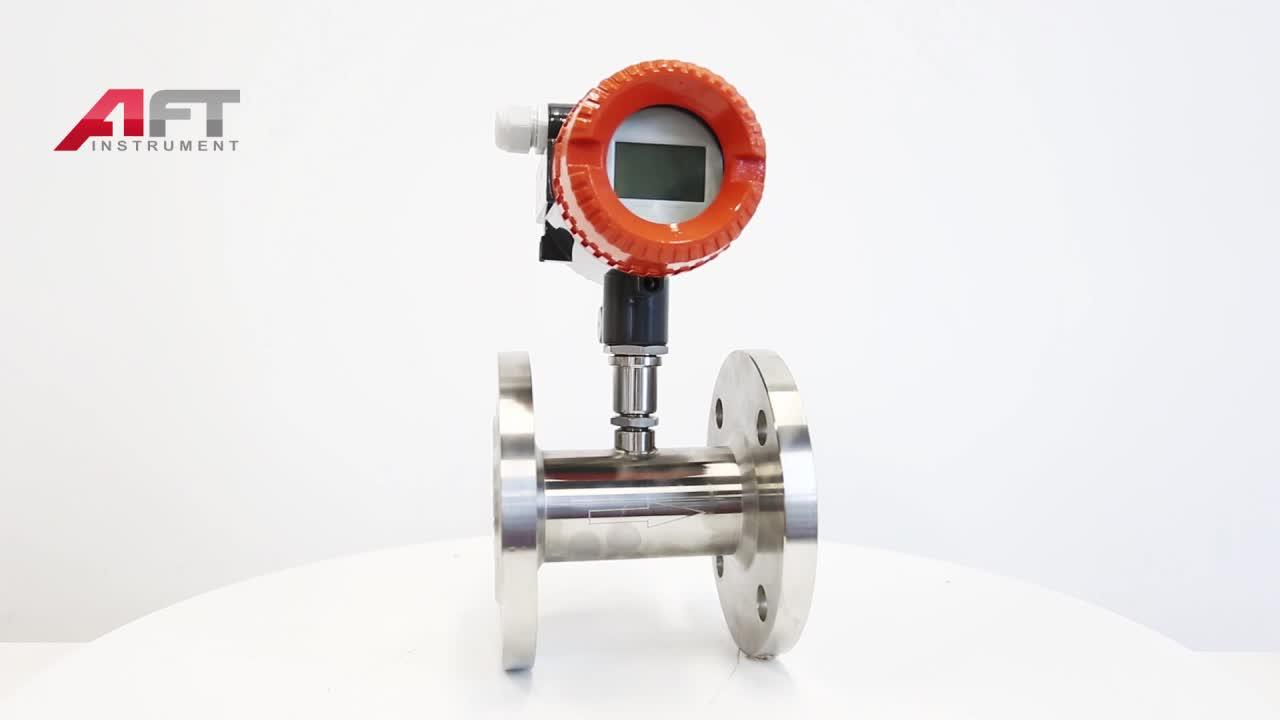 ss304 turbine flow meter liquid turbine flow meter oil flow meter
