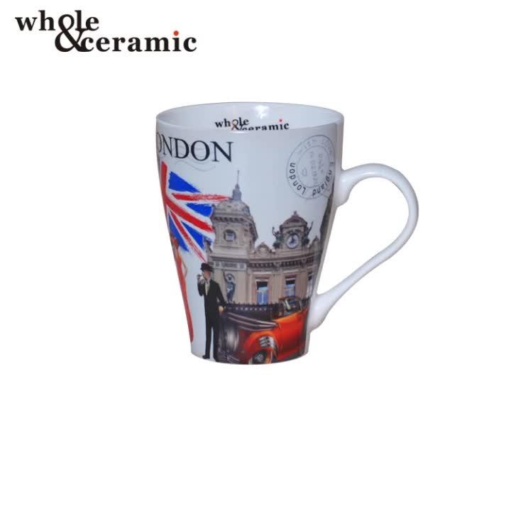 London Map Stanley Ceramic Tea Mug New Bone China Coffee Souvenir Mug Set