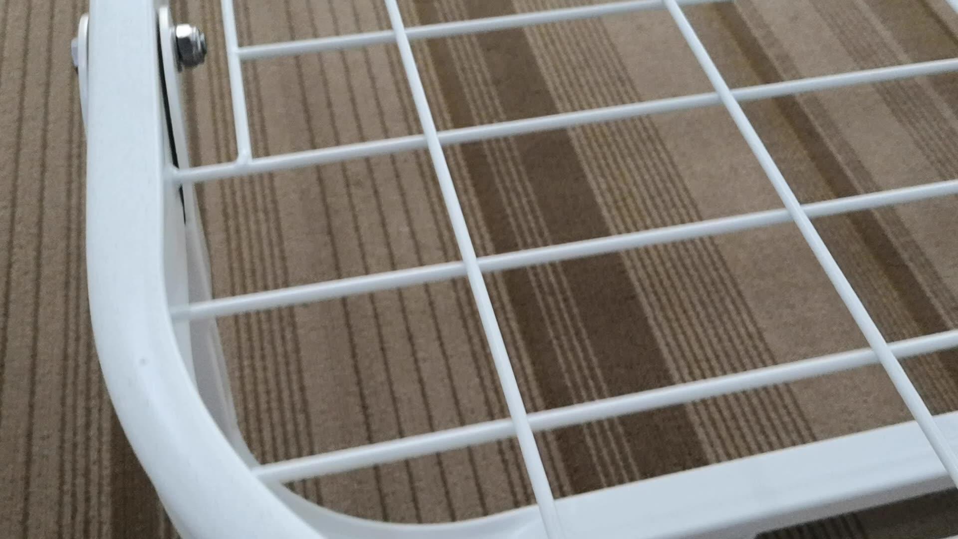 Простой дизайн оцинкованная стальная односпальная кровать для программируемого регулятора скорости и больничных условиях