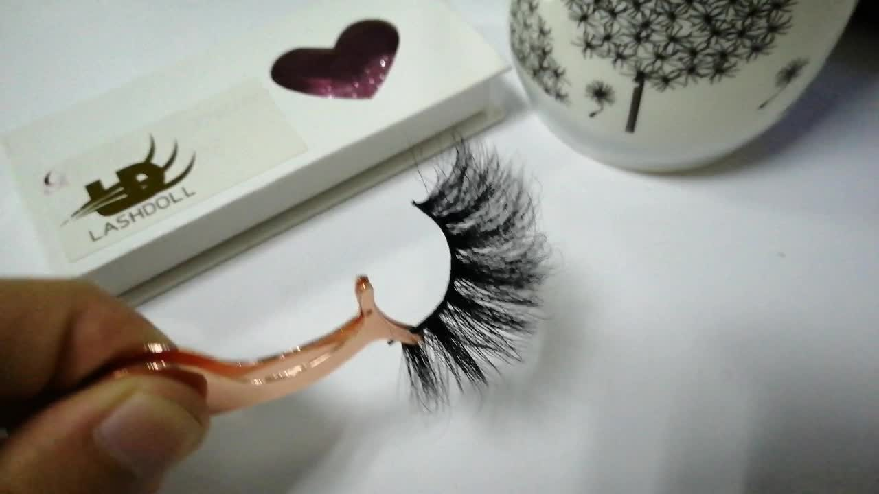 Hot Selling 3d 5d 25MM 22MM Mink Eyelashes Private Label Mink Lashes 3d Mink Eyelashes