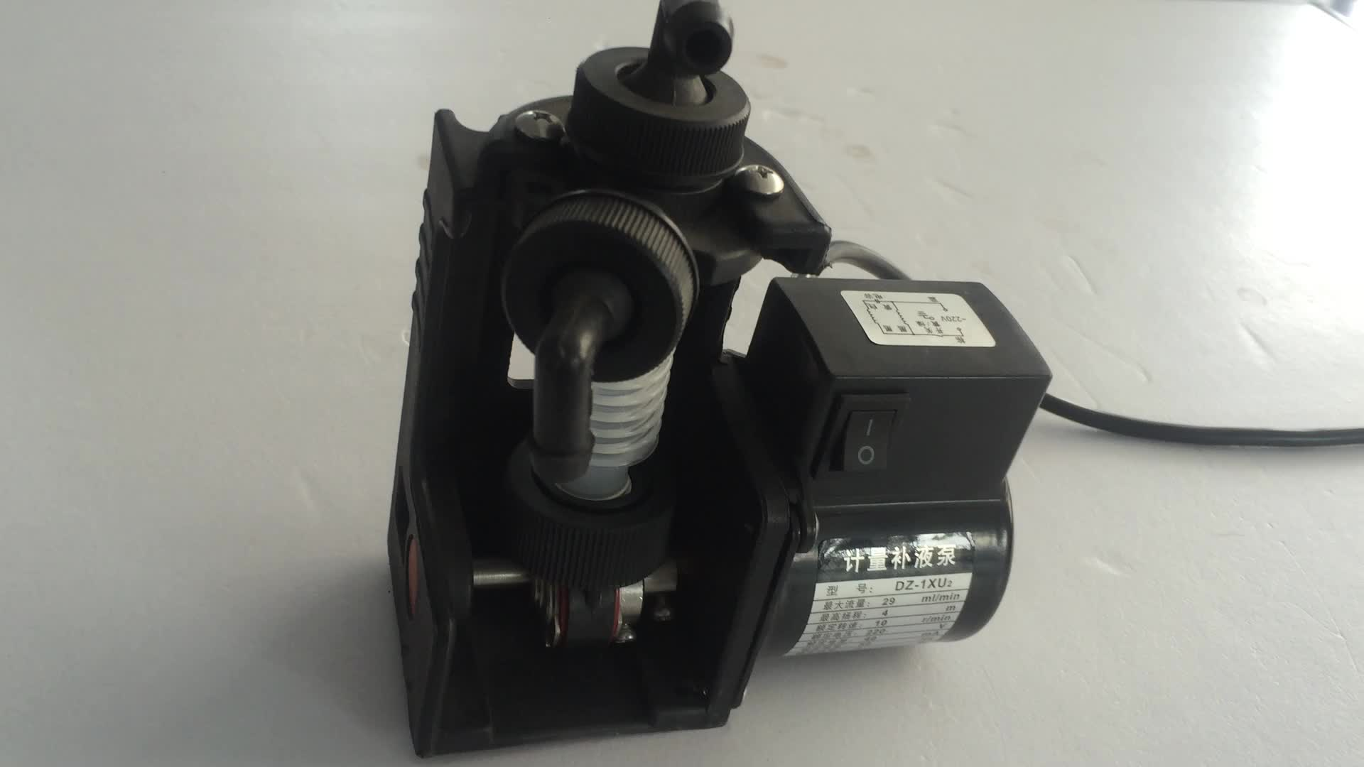 SISAN DZR-3X High Qualitysolenoid metering pumps chlorine mini chemical electronic dosing pump