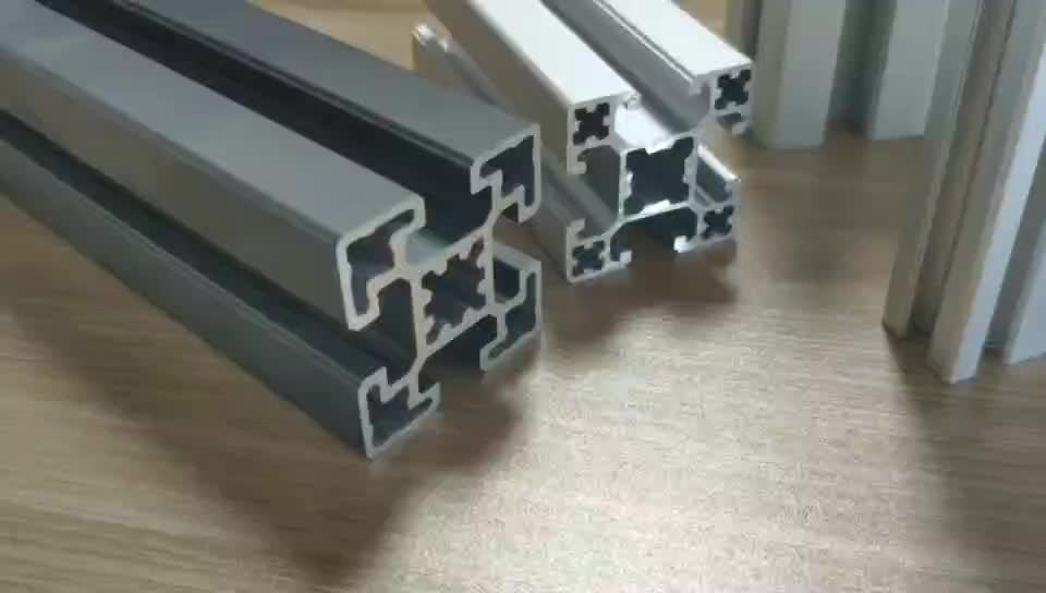 china factory silver color anodized extrude 6063 6160 t6 aluminum extrusion awning rail track t slot profile for workbench