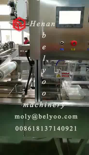 MAP meal prep fruit and vegetable vacuum tray sealer food container sealer modified atmosphere packaging machine