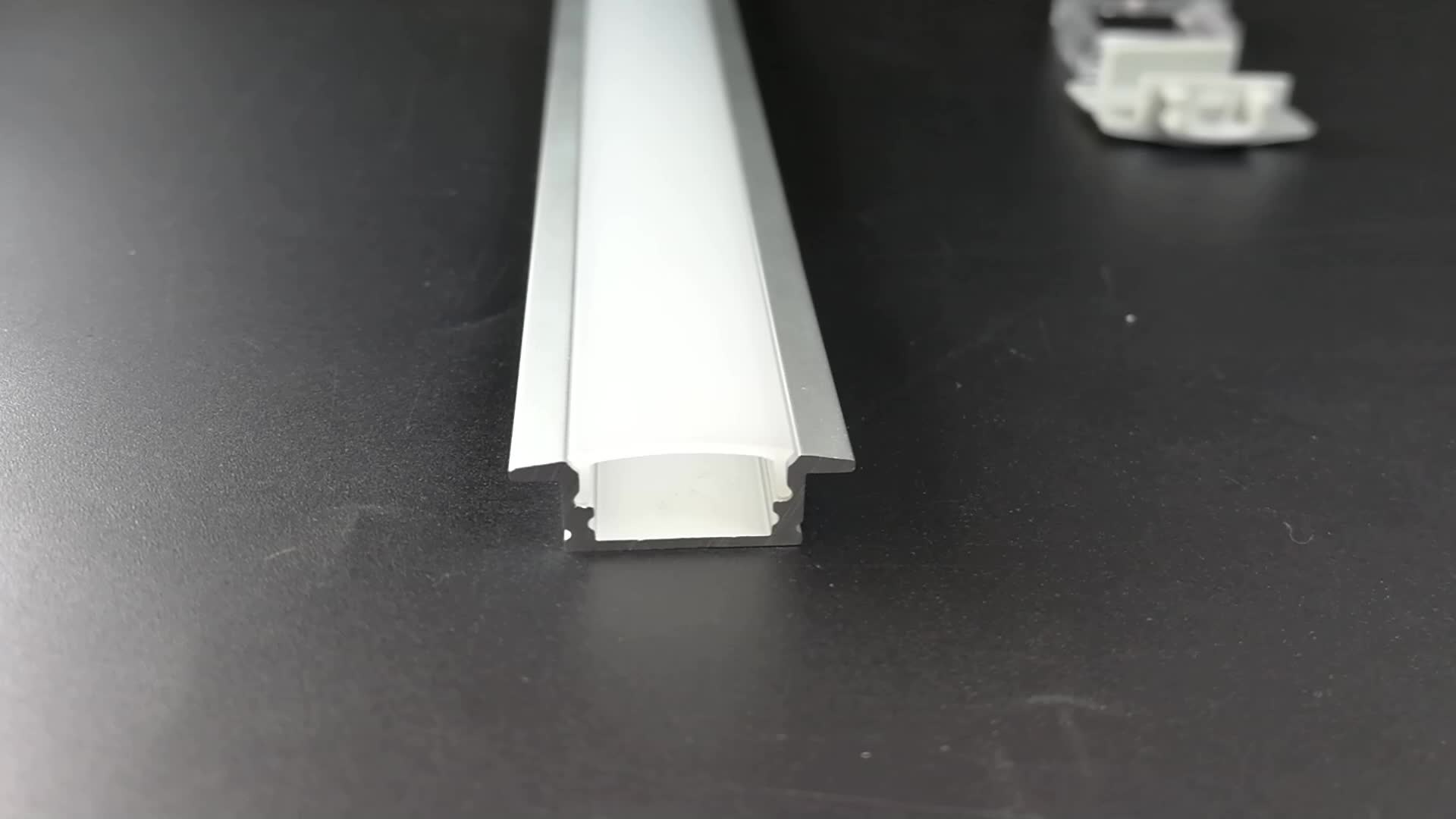 Linear Aluminum Led Profile with Diffuser Cover for guide Lighting Effect