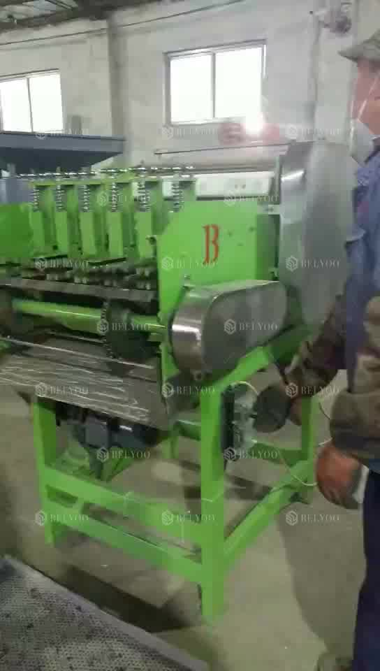 Factory supply cashew nuts cracker dehuller production line cracking machine for shell cashew nuts