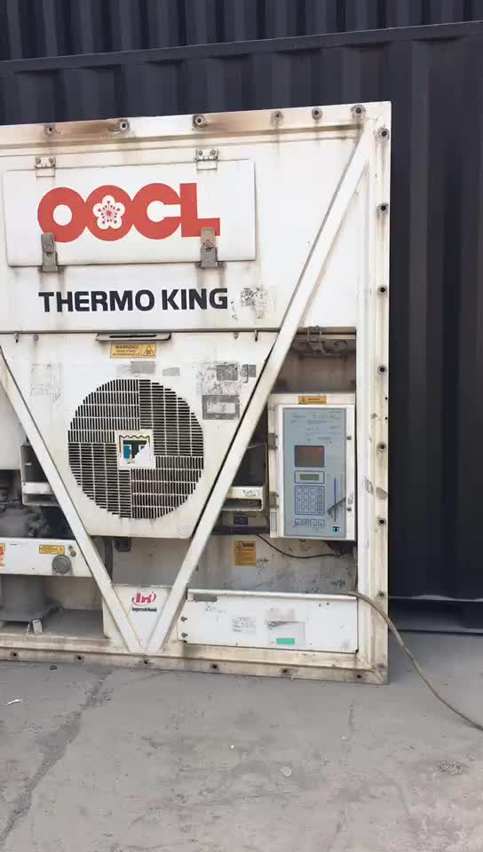 Used Carrier Daikin Thermo King Refrigerator 20ft Reefer Container for Sale