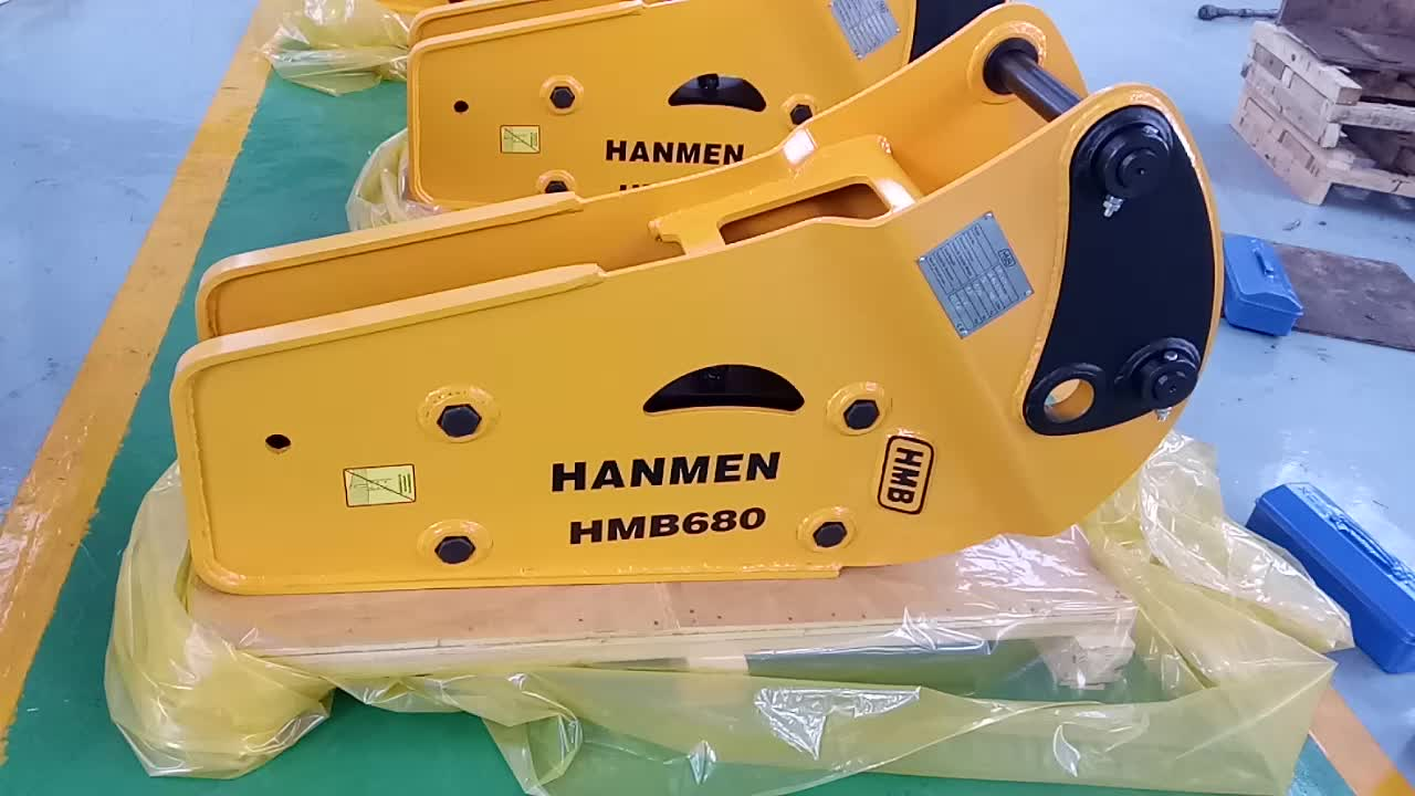 CE approved hydraulic concrete breaker hammer for DH55 EC55 excavator