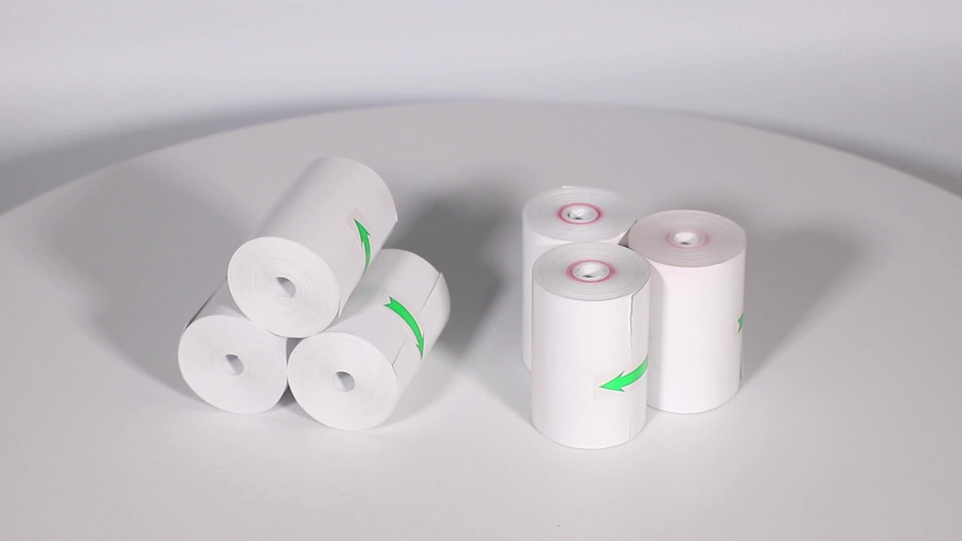 Jintian grátis Coreless 57mm x 30 milímetros rolos de papel térmico