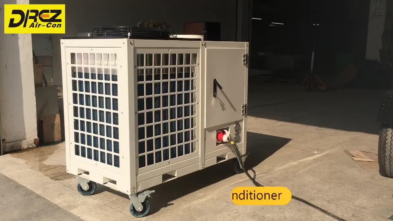 5HP Dilokasi 48000BTU Portable Air Conditioner untuk Tenda Kecil Ruang