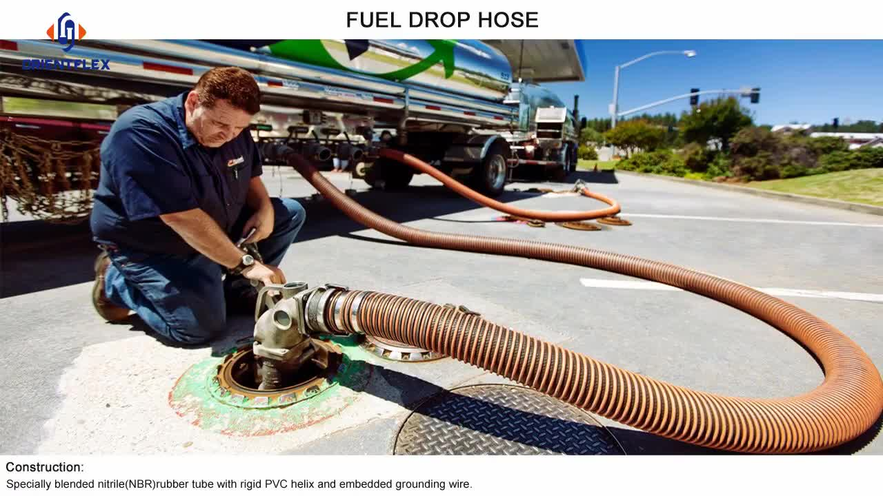 Best vacuum truck petroleum diesel hoses and fittings