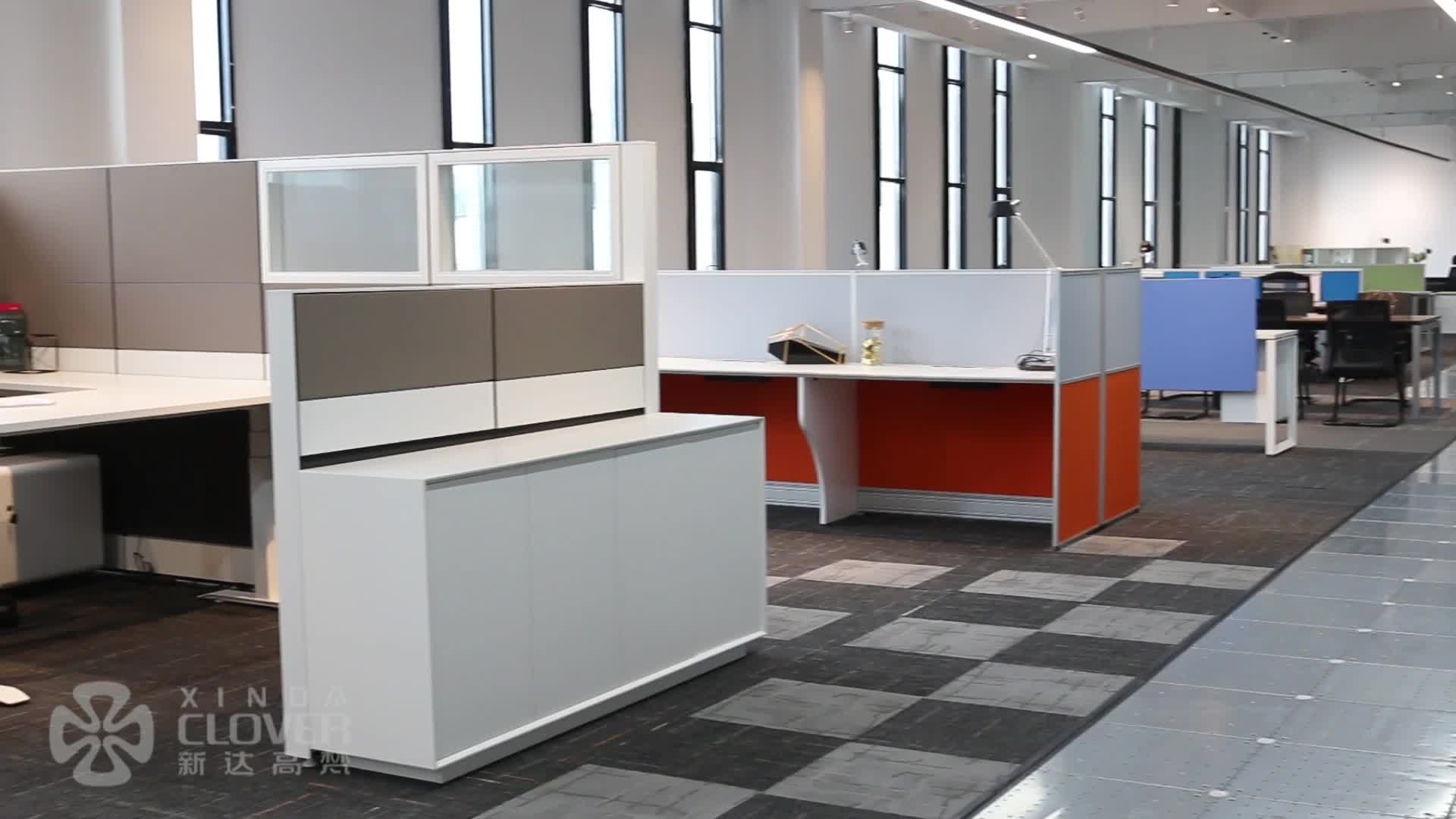 Cubicle Workstation Design Fabric Table High Quality Office Low Partition