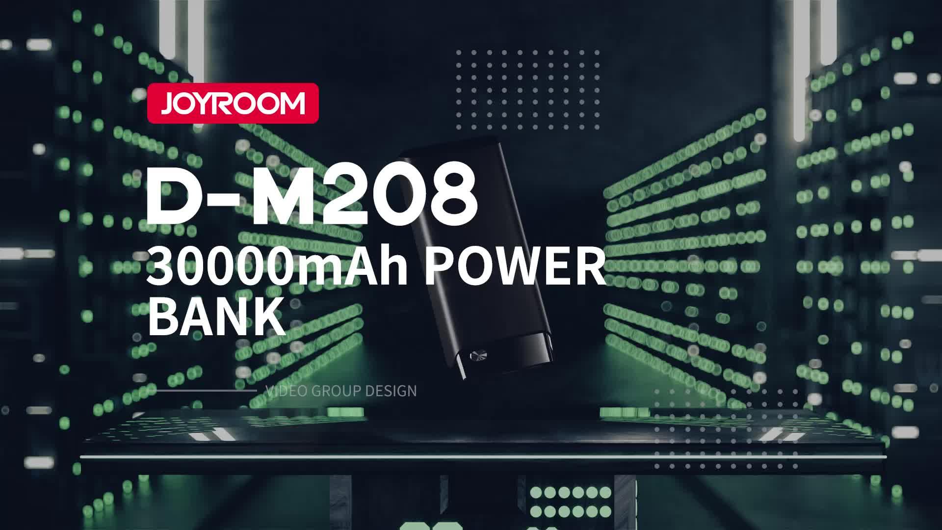 Joyroom 2019 new arrivals high capacity portable lithium power bank 30000mah