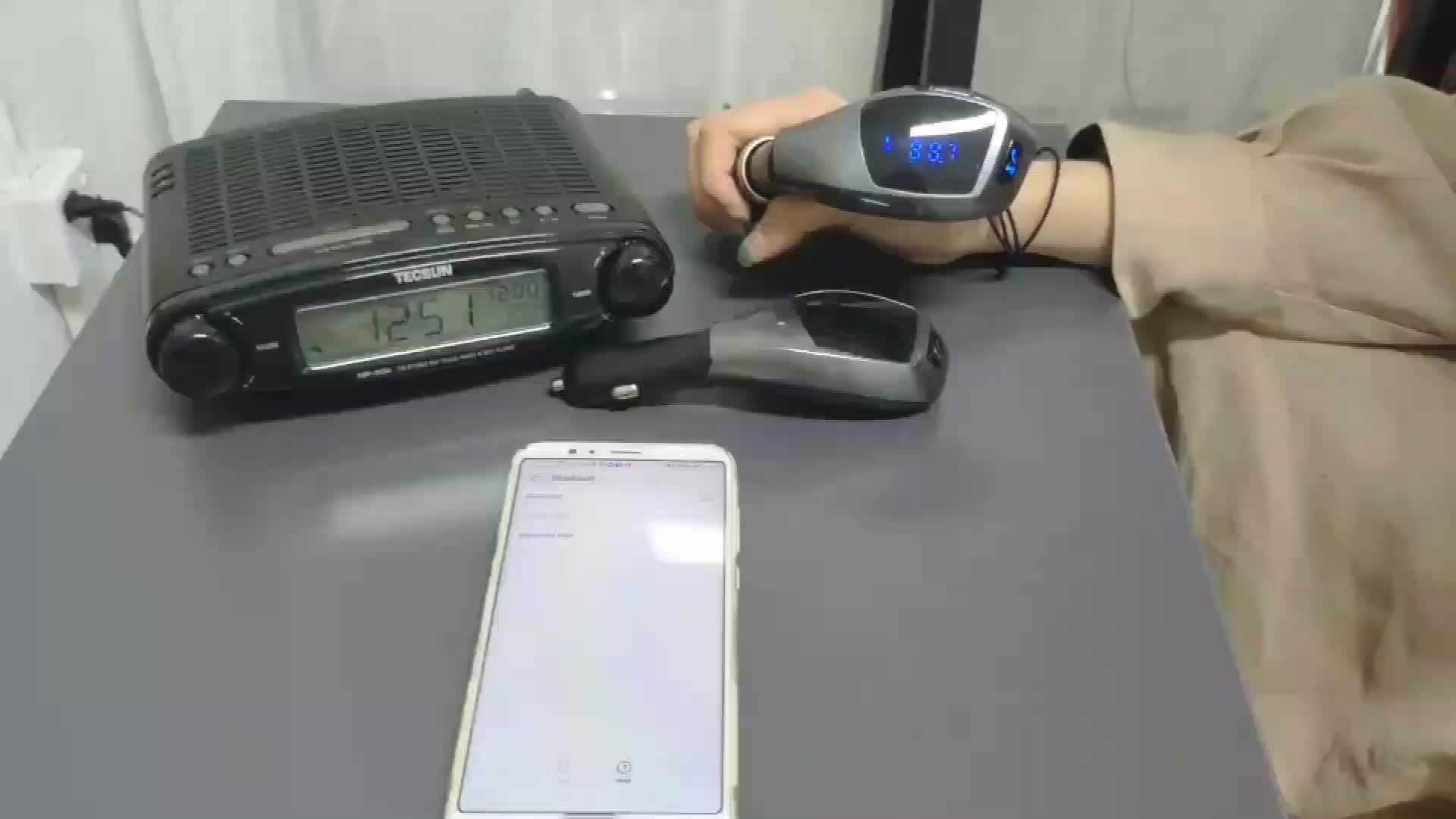 Автомобильный FM-трансмиттер AGETUNR X5 с Bluetooth, многофункциональный автомобильный аудиоплеер с MP3-плеером, оригинальный дизайн