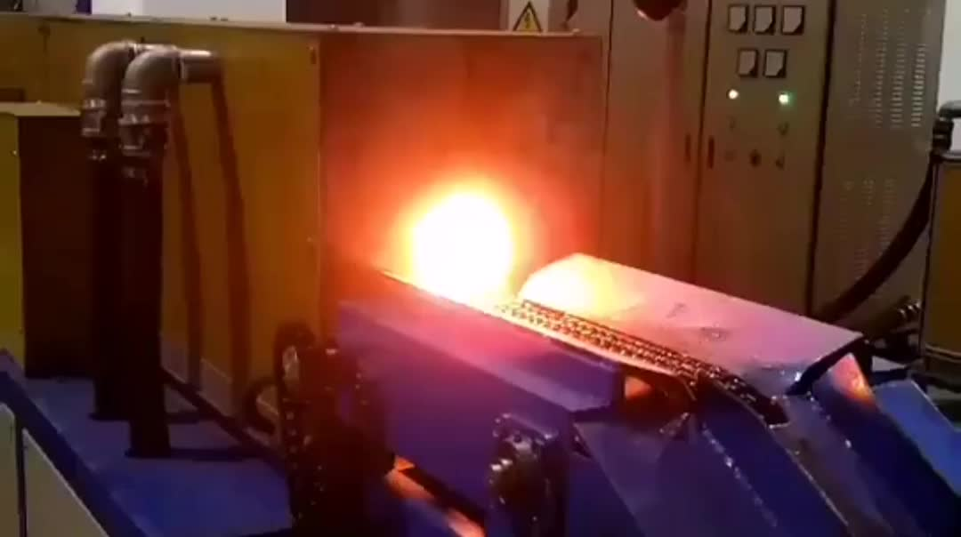 Factory price heat all kinds of bars 350kw portable induction heating machine