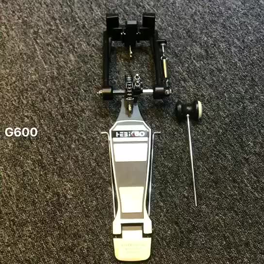 G600 Worldwide Popular chrome plated professional eletronic drum pedal
