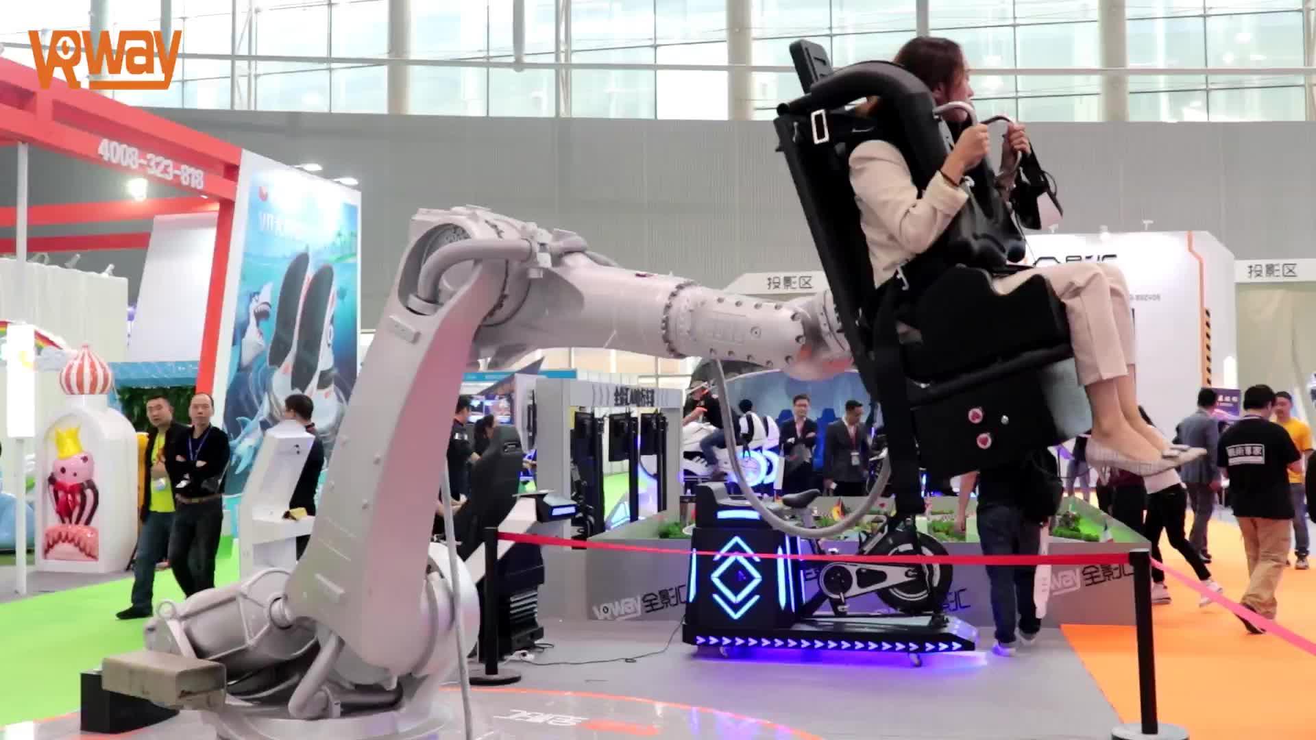 2020 VRway 360 תואר סיבוב 6dof רובוט מכאני זרוע vr למכירה