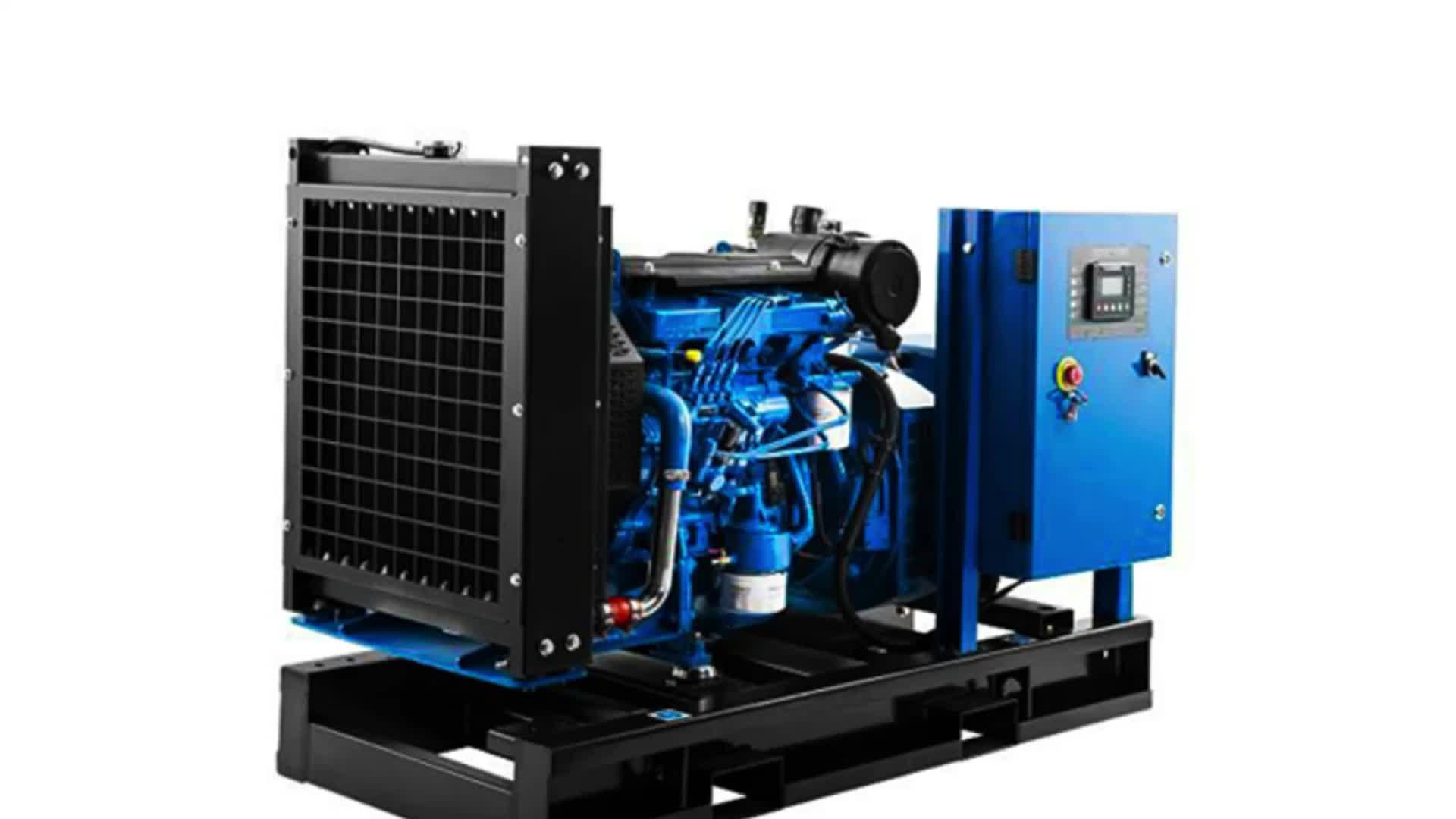 Biasino 30kw 37.5kva Generatore Diesel Set con Motore Weichai
