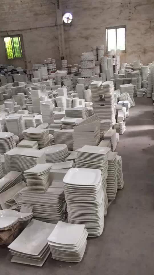 Hot Verkopen Goedkope Restaurant Plaat Keramische Bulk Keramische Platen Verkopen Door Ton