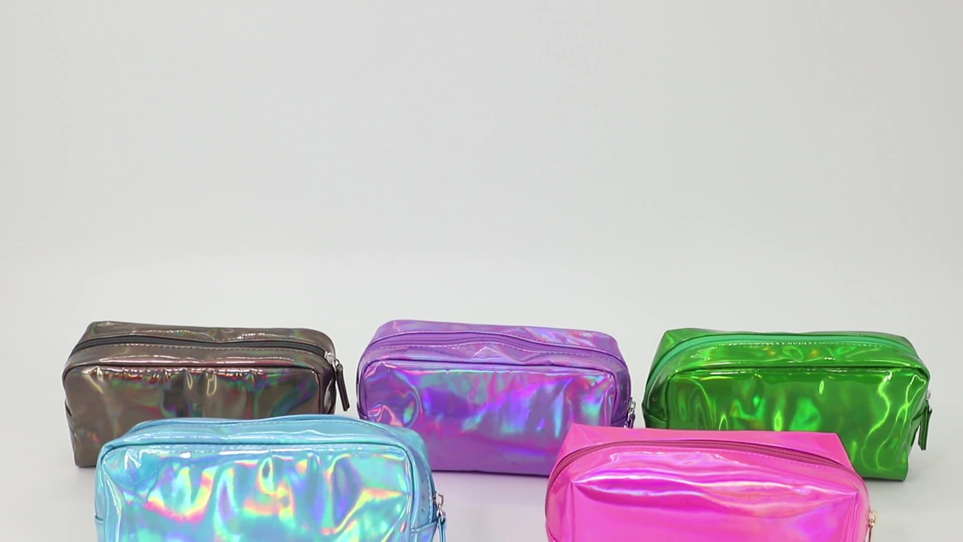 Embroidered Logo Terry Velour Wet Bikini Bag For Gift Promotion