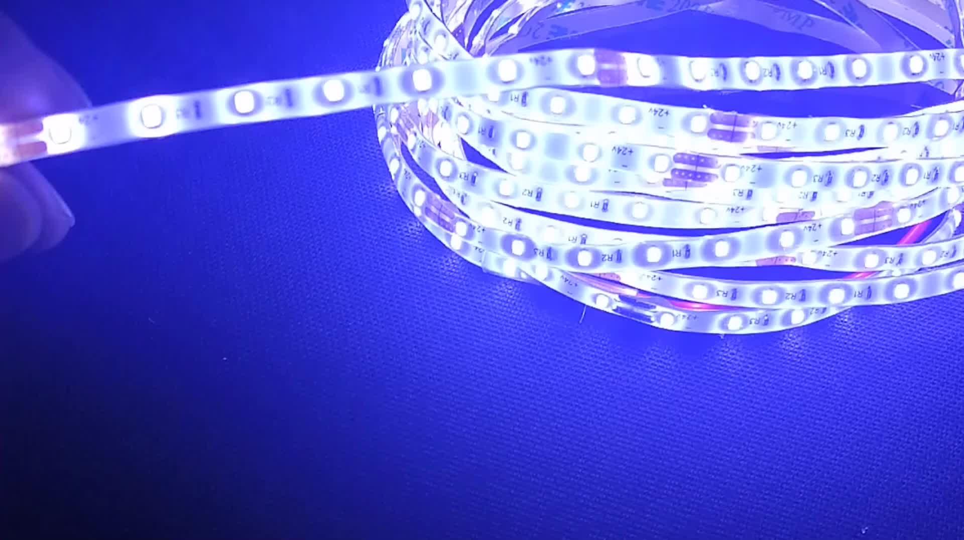 4MM  5MM Wide  led strip 24 vdc  Mini flexi led light strip waterpoof