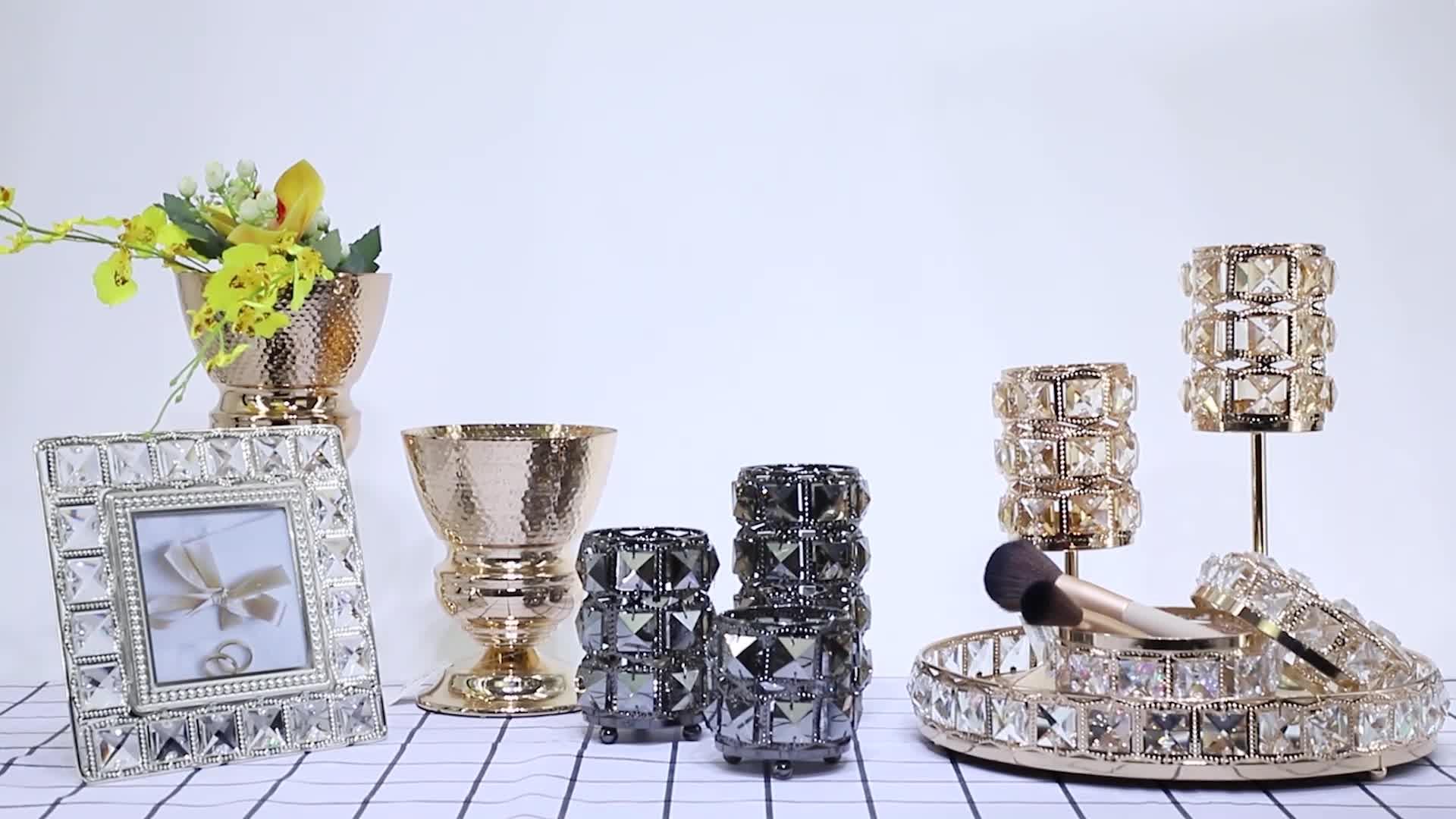Organizador de maquiagem de Chocolate Pulseira De Metal Trinket Caixas Do Favor Do Casamento Para Doces Favores Para Meninas