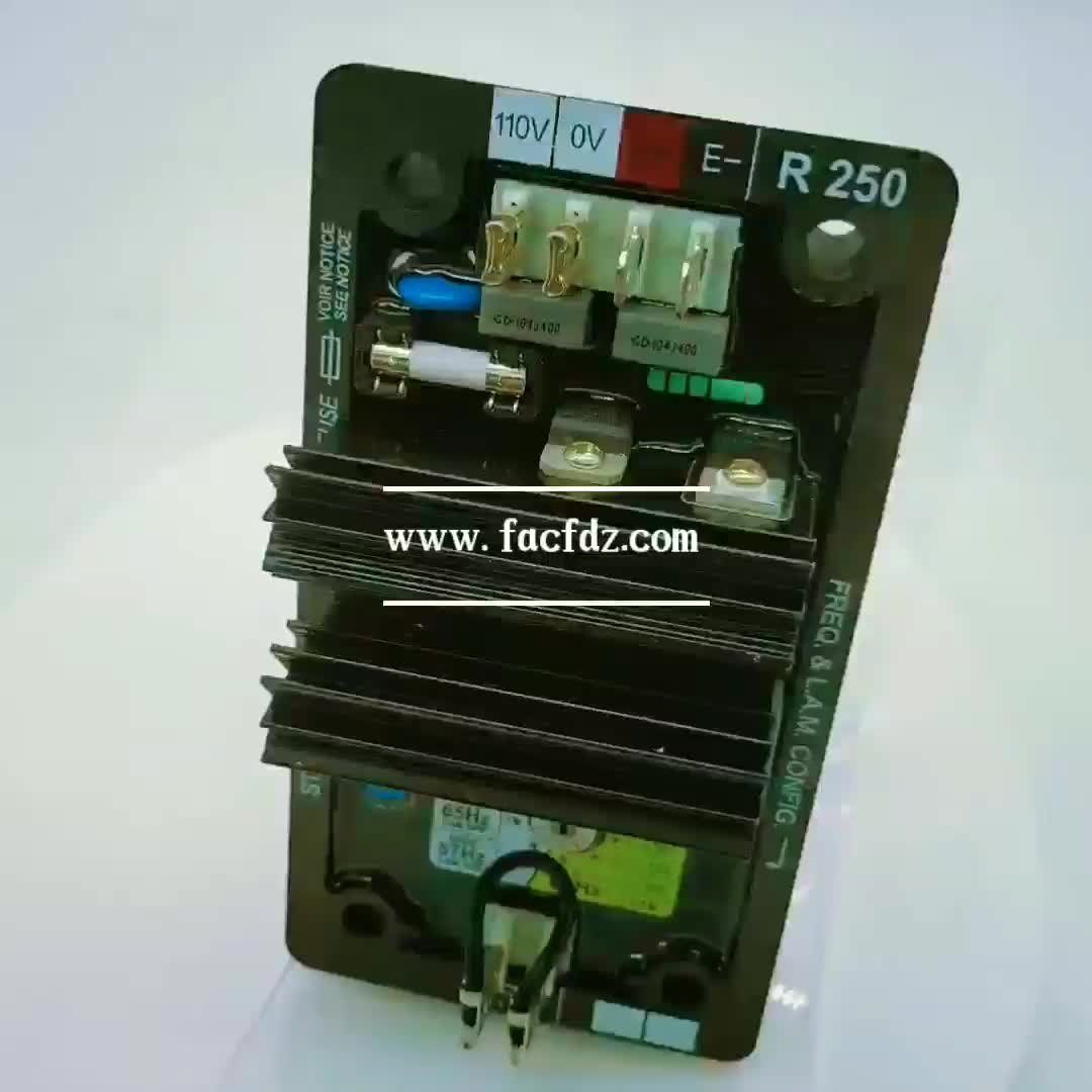 Chengfeng China alternator Avr R250 integrated circuits Generator parts Controller automatic voltage regulator