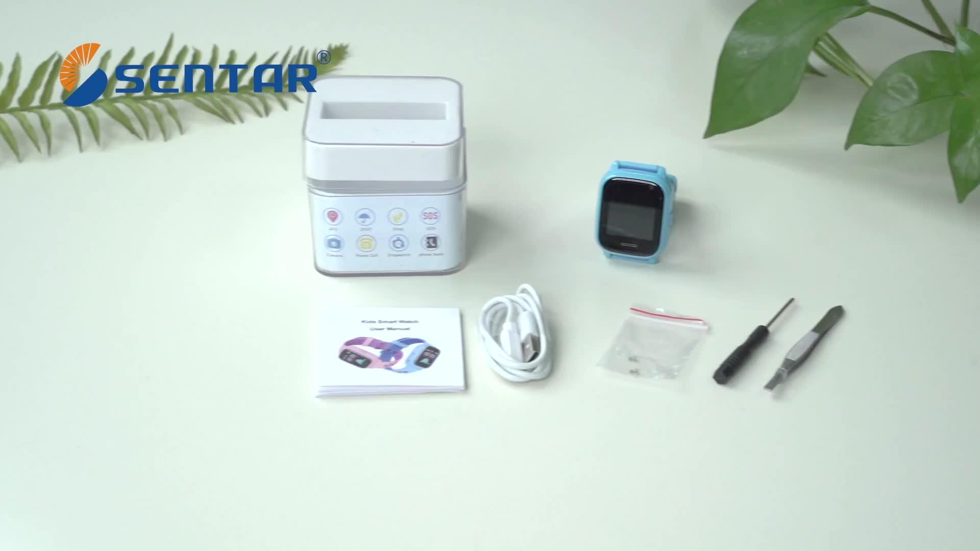Mooie Kids smart horloge waterbestendig GPS horloge voor kinderen