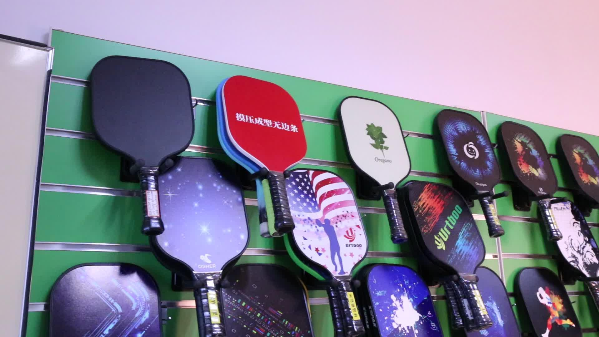 Latest Style Honeycomb Filling pickleball paddle racket Nano-scale Carbon Weave USAPA pickleball paddle
