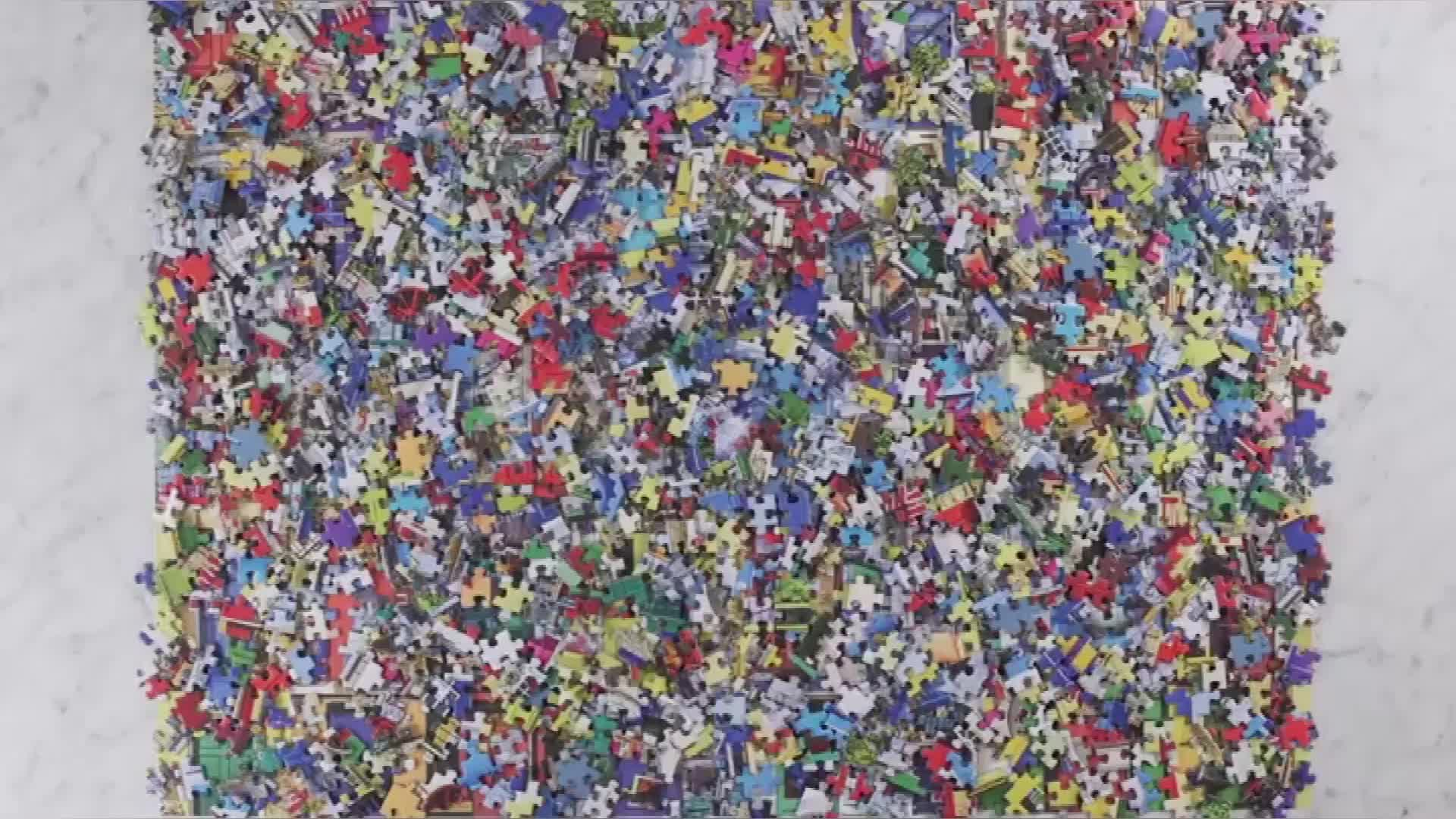 Custom 1000 Pieces Paper Jigsaw Puzzles for Kids and Adult