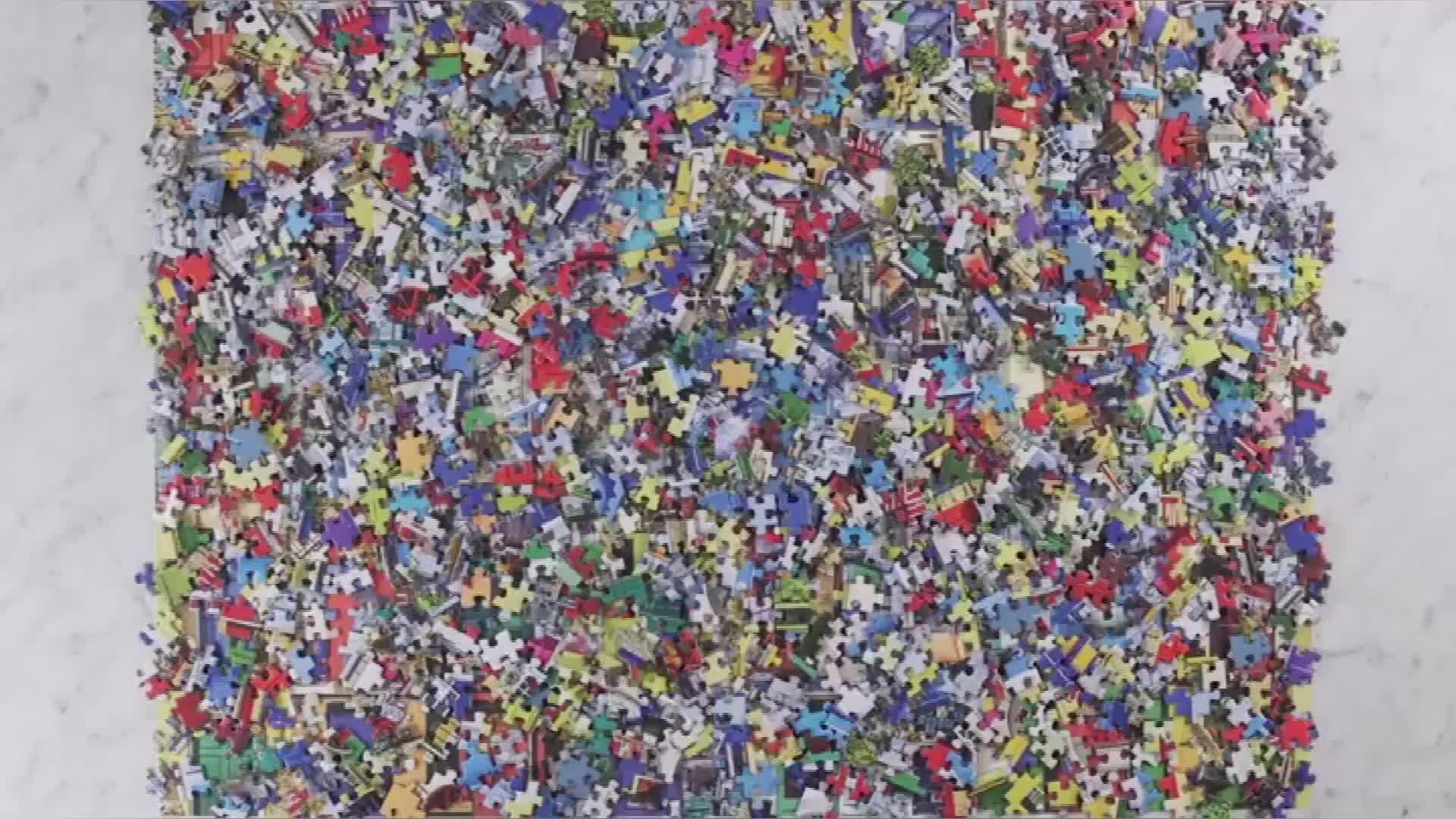 Su misura Commercio All'ingrosso di Formato Standard 750 Pezzi di Puzzle di Puzzle Game