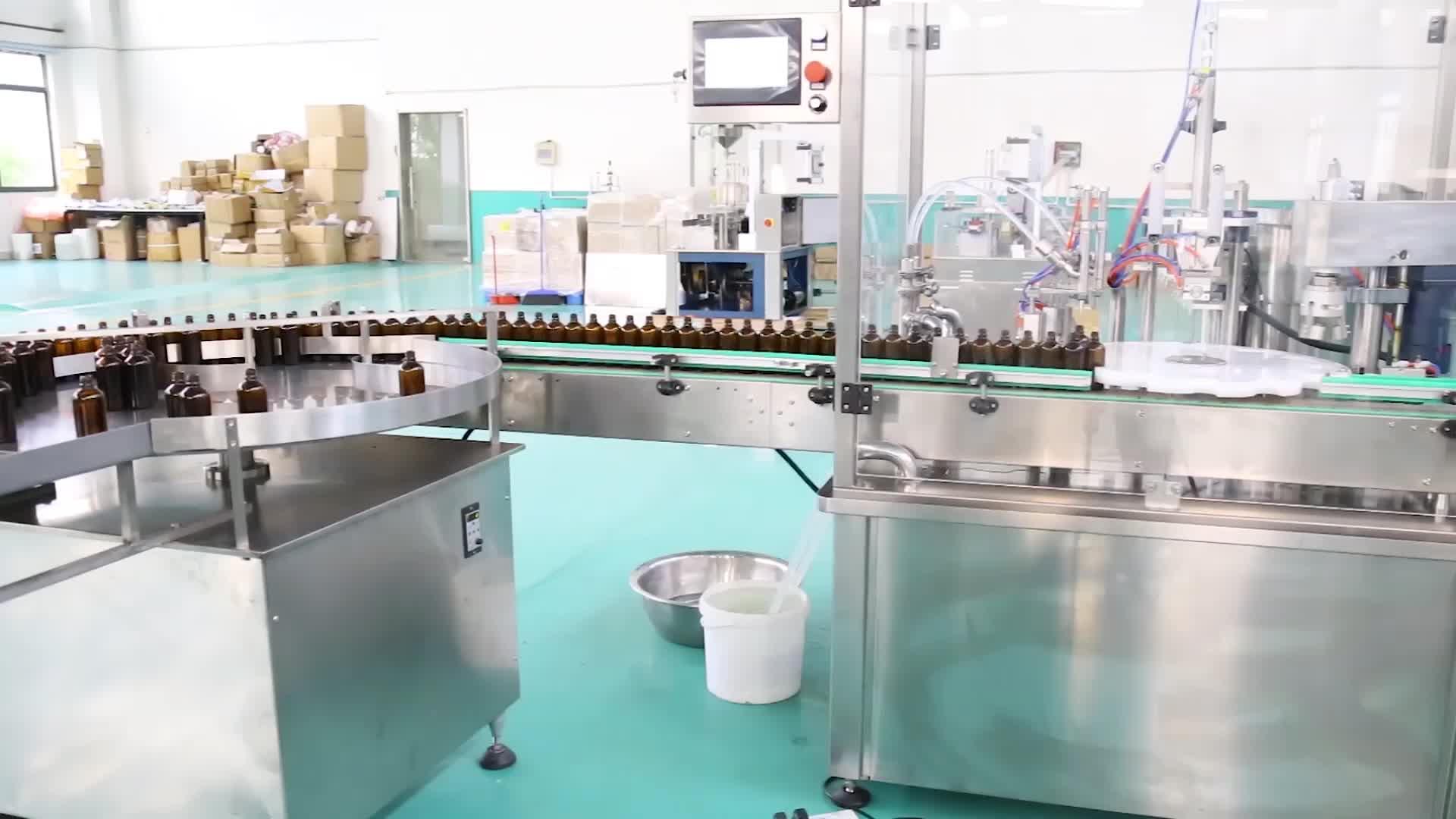 קוקוס שמן מילוי/ספריי מכונת מילוי/תמיסה סירופ צבע מילוי עלות מותאם אישית