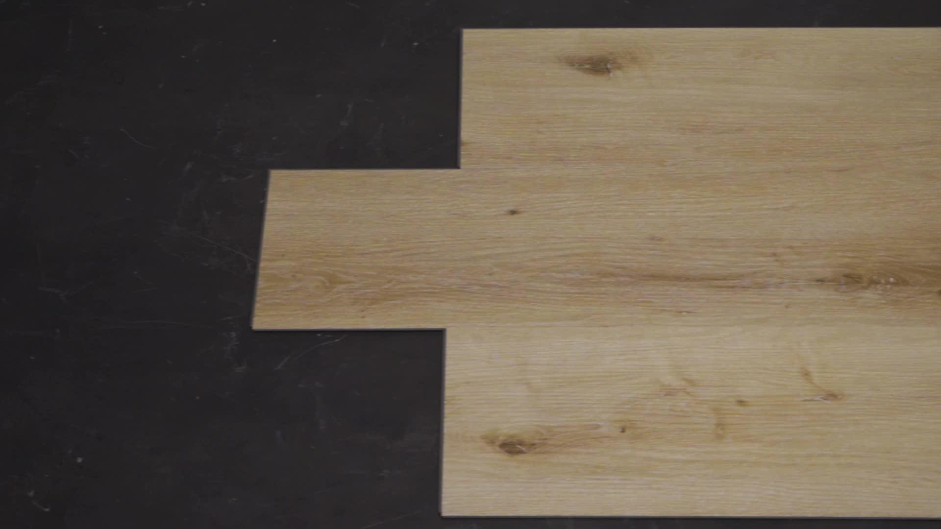 Sang Trọng Sàn Vinyl SPC Bấm Vào Sàn Sàn PVC