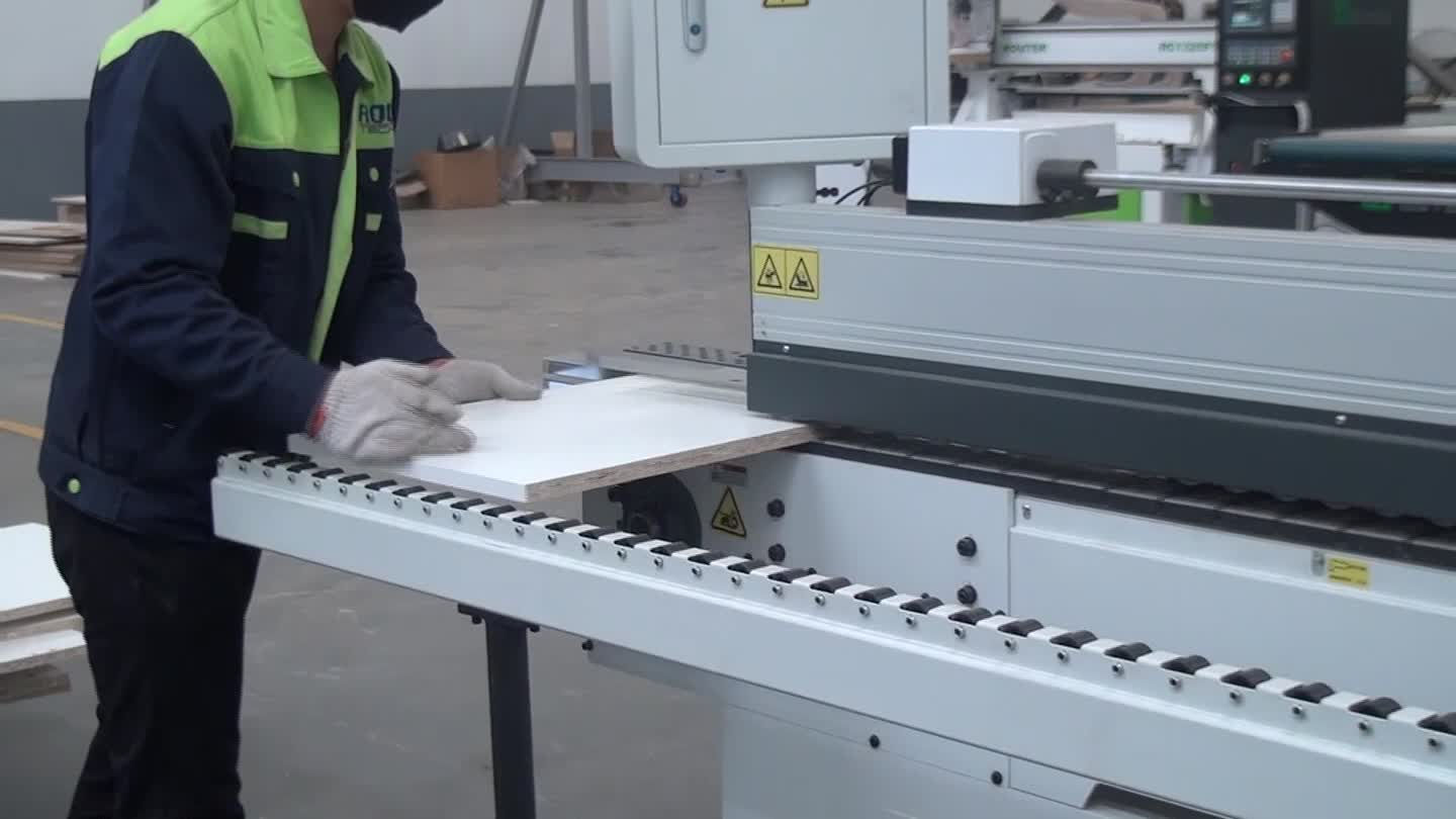 RCE08 PVC Automatic linear  edge Banding Machine