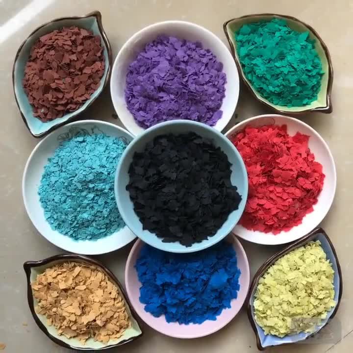 Epoxy Flake Flooring Color Flake for Sale