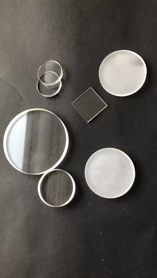 Opaque and Sandblasted Quartz Plate Unclear Fused Silica Quartz Glass Sheet Fused Quartz Plate