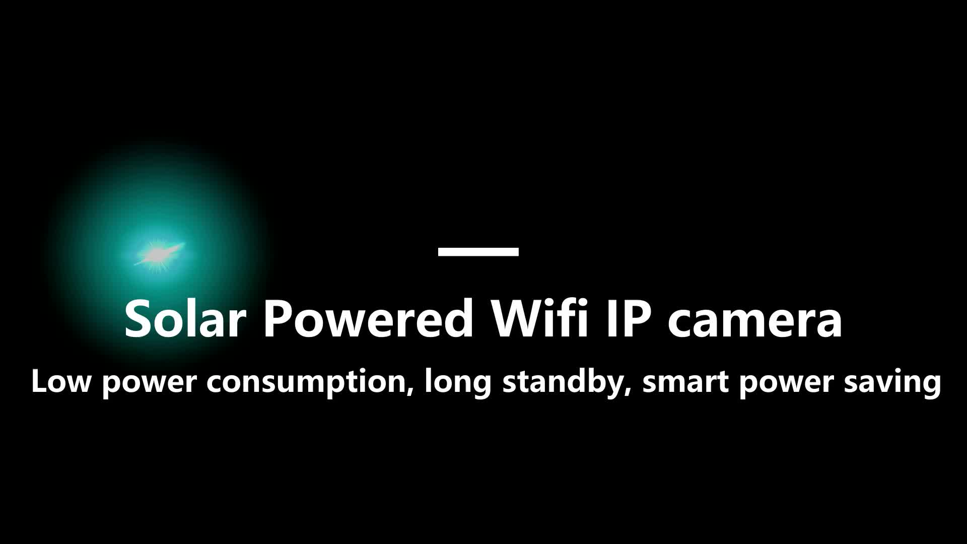 2020 popüler güneş wifi kamera şarj edilebilir pil kablosuz bullet kamera 1080P açık su geçirmez