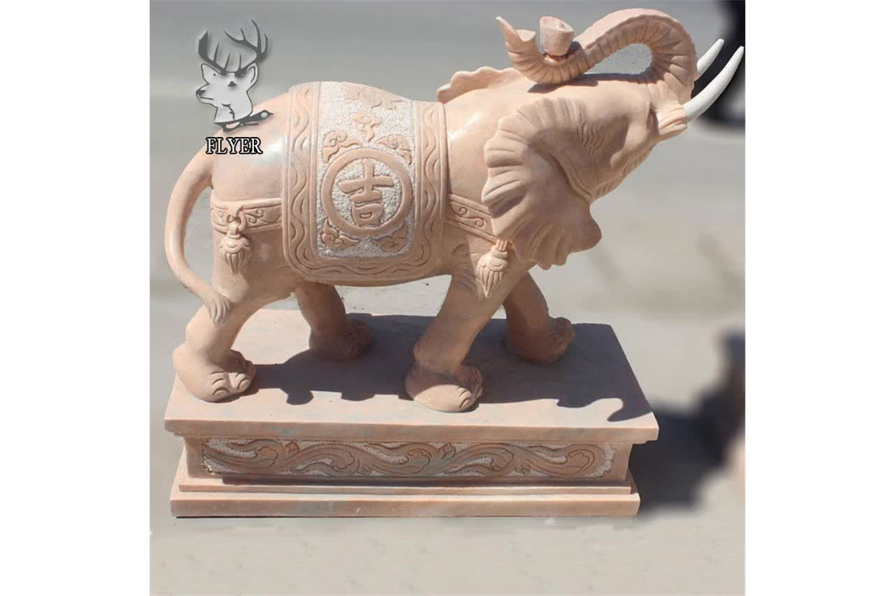 Tuin Steen ganes carving olifant beelden van hindoe goden