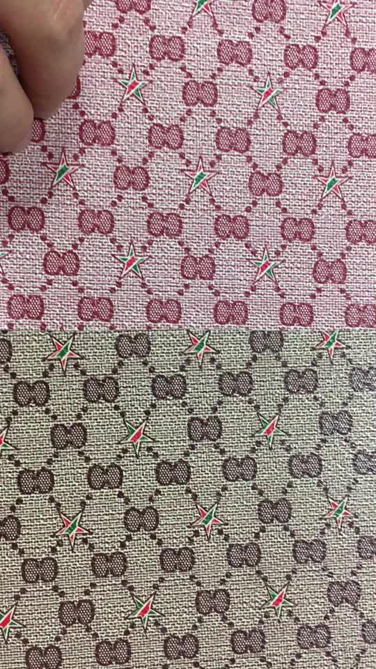 Pvc cuero artificial telas para las mujeres bolsos de mano