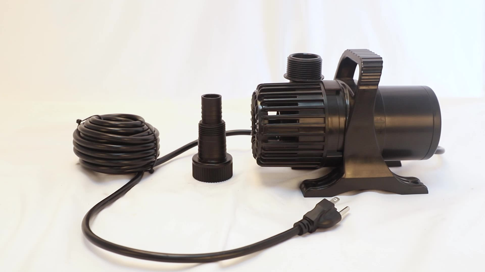 Mass Flow 2700GPH,10000 l/h ,120W  Submersible Water Pump  Aquarium Fountain Pond Waterfall Hydroponic Systems